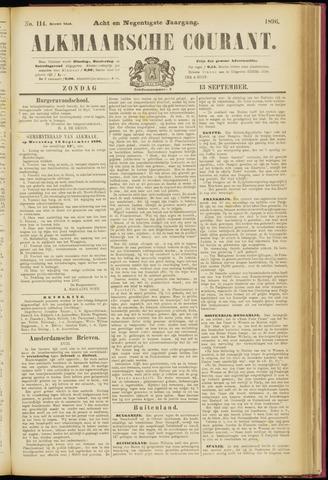 Alkmaarsche Courant 1896-09-13