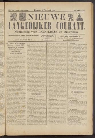 Nieuwe Langedijker Courant 1923-02-06