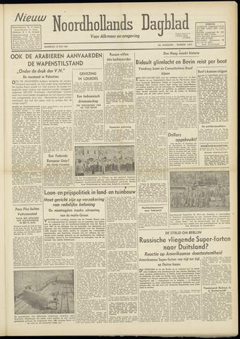 Nieuw Noordhollandsch Dagblad : voor Alkmaar en omgeving 1948-07-19