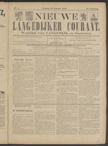 Nieuwe Langedijker Courant 1894-01-28