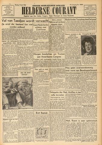 Heldersche Courant 1950-07-18