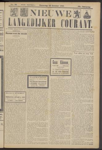 Nieuwe Langedijker Courant 1920-10-23