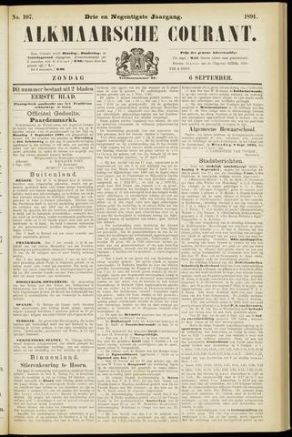 Alkmaarsche Courant 1891-09-06