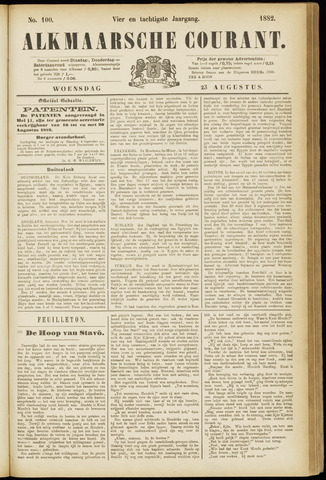 Alkmaarsche Courant 1882-08-23