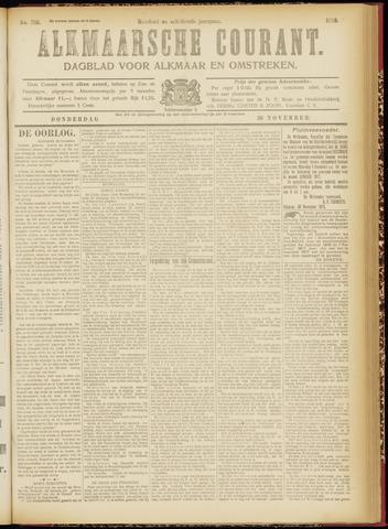 Alkmaarsche Courant 1916-11-30