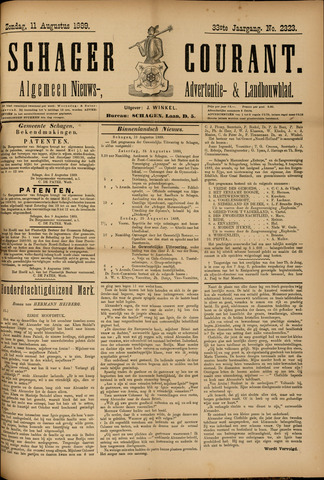 Schager Courant 1889-08-11