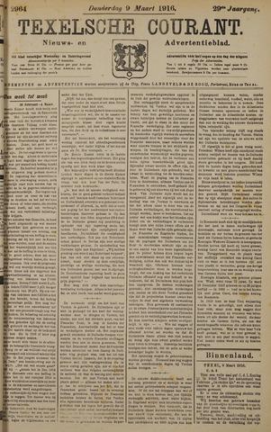 Texelsche Courant 1916-03-09