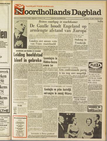 Noordhollands Dagblad : dagblad voor Alkmaar en omgeving 1967-05-17