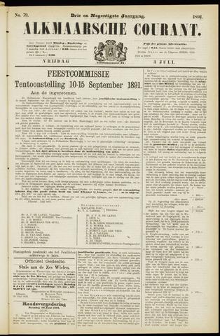 Alkmaarsche Courant 1891-07-03