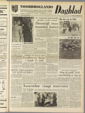 Noordhollands Dagblad : dagblad voor Alkmaar en omgeving 1961-02-28