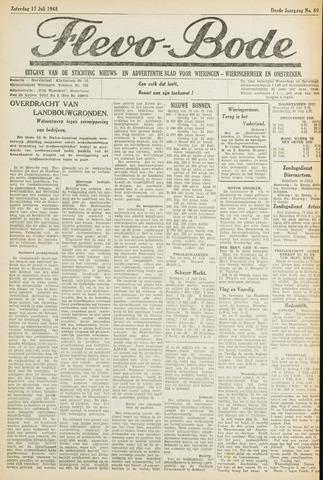 Flevo-bode: nieuwsblad voor Wieringen-Wieringermeer 1948-07-17
