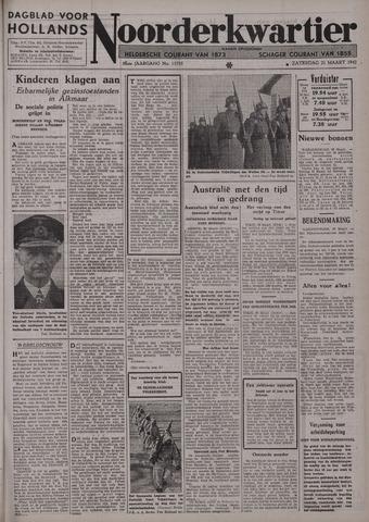 Dagblad voor Hollands Noorderkwartier 1942-03-21