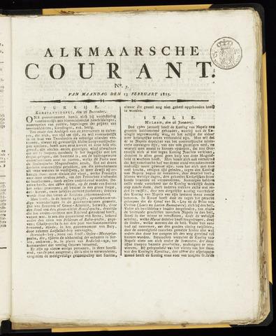 Alkmaarsche Courant 1815-02-13