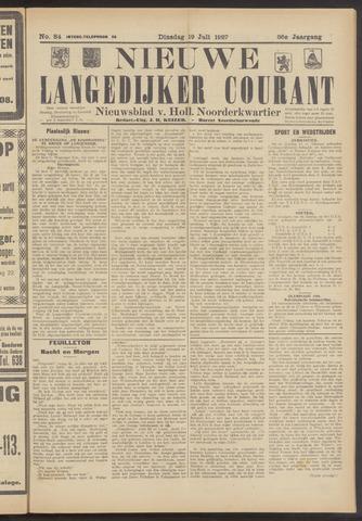 Nieuwe Langedijker Courant 1927-07-19