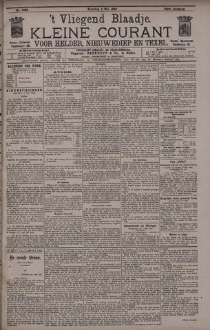 Vliegend blaadje : nieuws- en advertentiebode voor Den Helder 1896-05-09