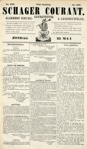 Schager Courant 1881-05-22