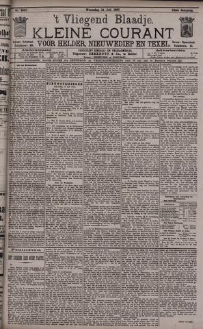 Vliegend blaadje : nieuws- en advertentiebode voor Den Helder 1897-07-14