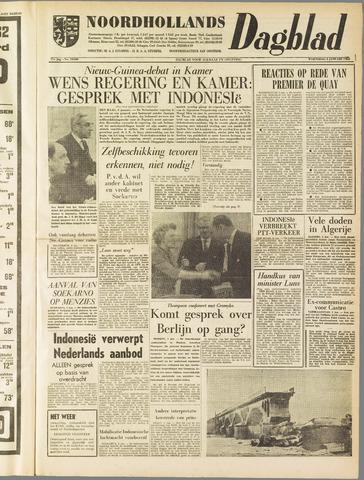 Noordhollands Dagblad : dagblad voor Alkmaar en omgeving 1962-01-03