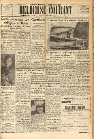 Heldersche Courant 1952-09-20