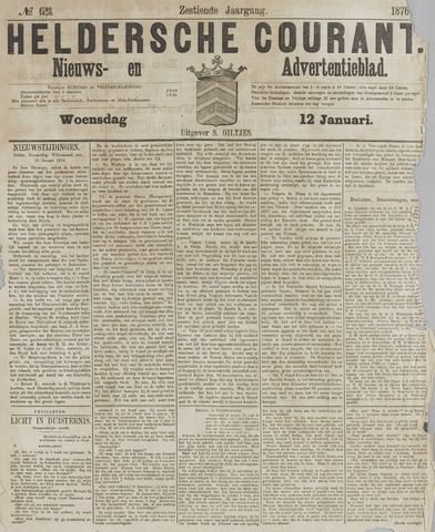 Heldersche Courant 1876-01-12