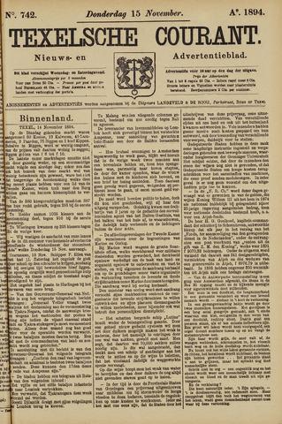 Texelsche Courant 1894-11-15