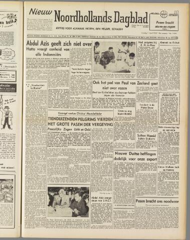 Nieuw Noordhollandsch Dagblad : voor Alkmaar en omgeving 1950-04-11