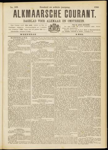 Alkmaarsche Courant 1906-05-09