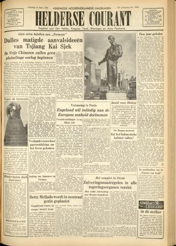 Heldersche Courant 1954-09-14