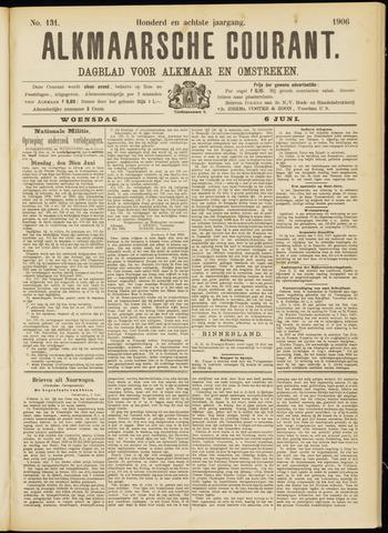 Alkmaarsche Courant 1906-06-06