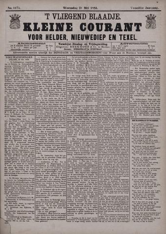 Vliegend blaadje : nieuws- en advertentiebode voor Den Helder 1884-05-21