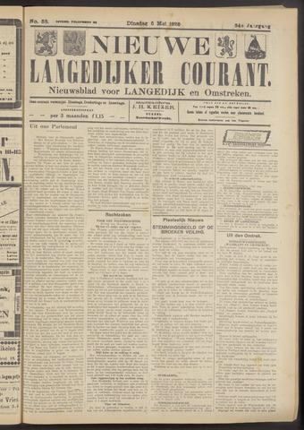 Nieuwe Langedijker Courant 1925-05-05