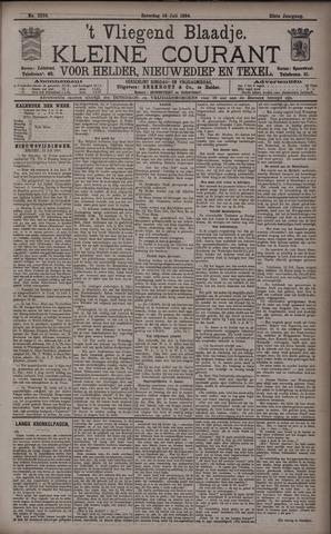 Vliegend blaadje : nieuws- en advertentiebode voor Den Helder 1894-07-14