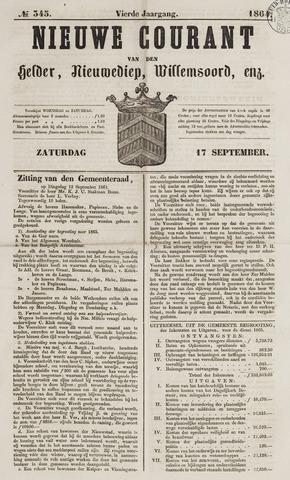 Nieuwe Courant van Den Helder 1864-09-17