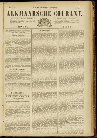 Alkmaarsche Courant 1881-05-01