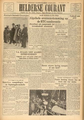 Heldersche Courant 1954-05-26