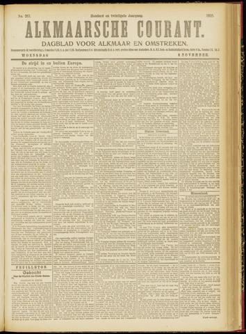 Alkmaarsche Courant 1918-11-06