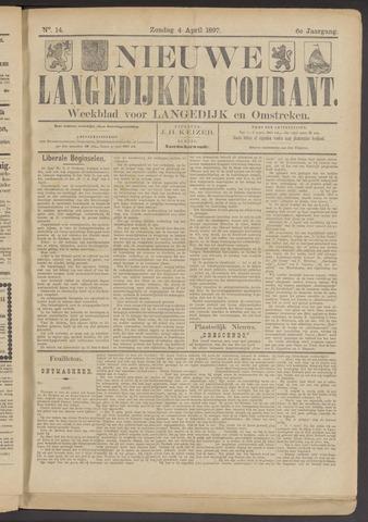 Nieuwe Langedijker Courant 1897-04-04