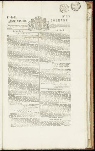 Alkmaarsche Courant 1843-05-22
