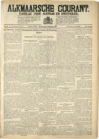 Alkmaarsche Courant 1937-08-05