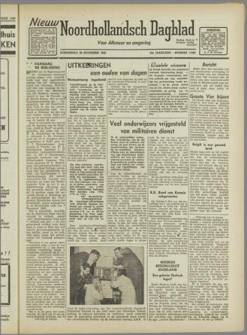 Nieuw Noordhollandsch Dagblad : voor Alkmaar en omgeving 1946-11-28