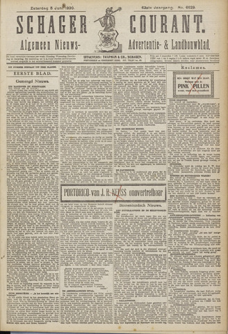 Schager Courant 1920-06-05