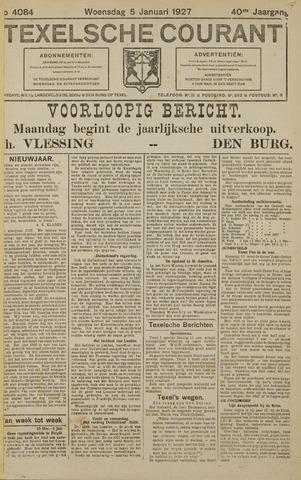 Texelsche Courant 1927