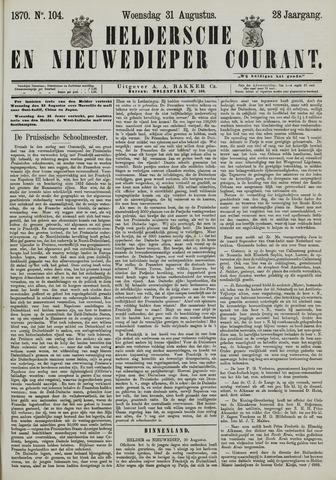 Heldersche en Nieuwedieper Courant 1870-08-31