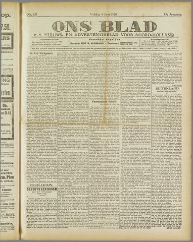 Ons Blad : katholiek nieuwsblad voor N-H 1920-06-04