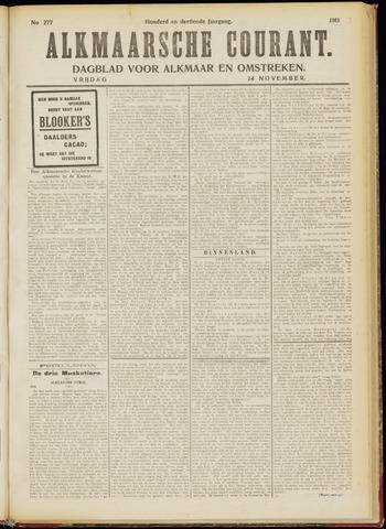 Alkmaarsche Courant 1911-11-24