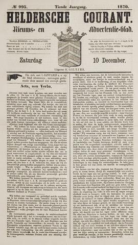 Heldersche Courant 1870-12-10