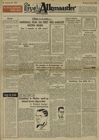 De Vrije Alkmaarder 1948-04-06