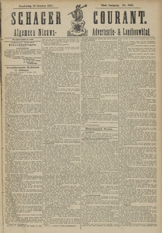 Schager Courant 1911-10-19