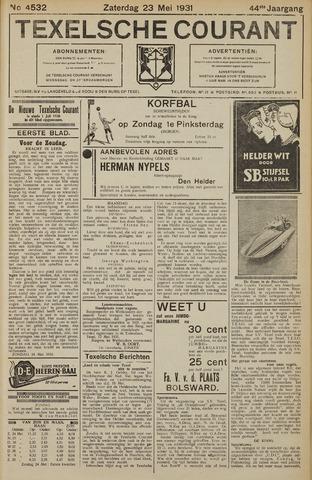 Texelsche Courant 1931-05-23