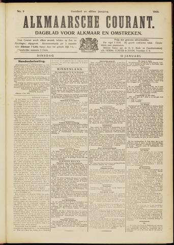Alkmaarsche Courant 1909-01-12